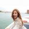 T-ARAヒョミン-ベネチアでの画像「涼しげなシースルールック」