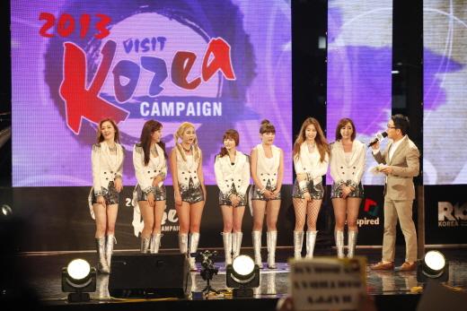 韓国観光公社がK-POPスターらと行った韓国訪問キャンペーン