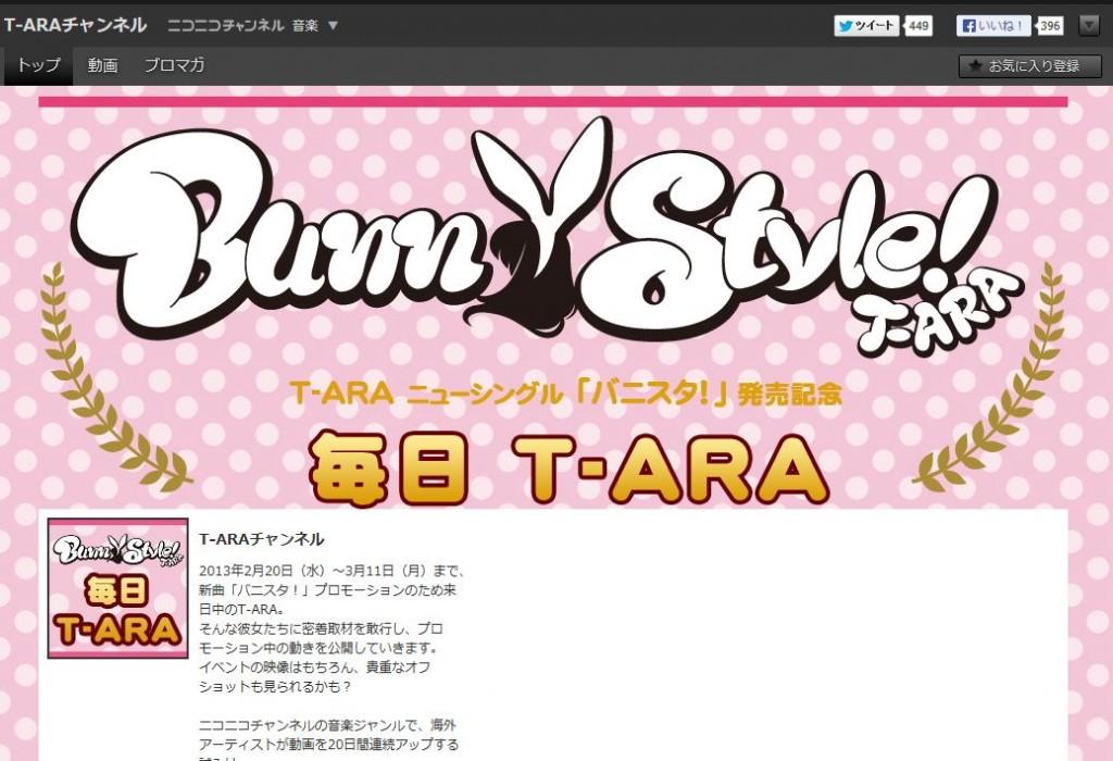 ニコニコ動画『毎日T-ARA』の特別編が4月27日より配信開始!