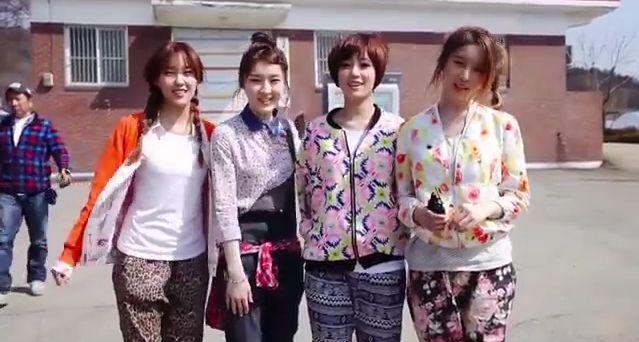 T-ARA N4『田園日記』のドラマVer.MVメイキング動画が公開