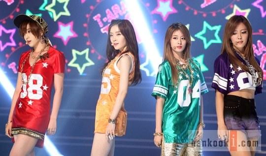 T-ARA N4が5月29日『ショー!チャンピオン』に出演-カリスマあふれる表情