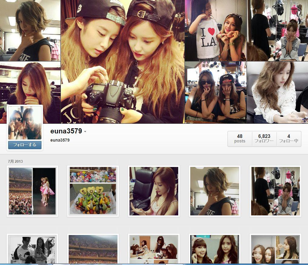 T-ARAのスタイリスト『euna』さんのinstagramアカウントを紹介