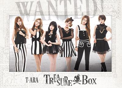 【QRコード付】T-ARA「TREASURE BOX」のポスターが各駅に登場!