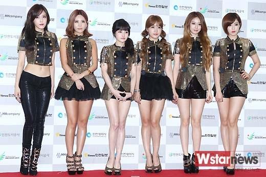 T-ARA『2013仁川韓流観光コンサート』-SexyLove・LoveyDoveyを披露