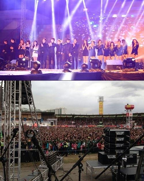 T-ARA・DAVICHIのモンゴルコンサート「2万人のペンが熱狂した公演」