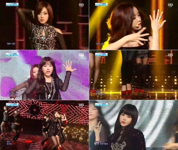 T-ARA『NUMBER NINE』活動終了「13年11月10日放送人気歌謡」
