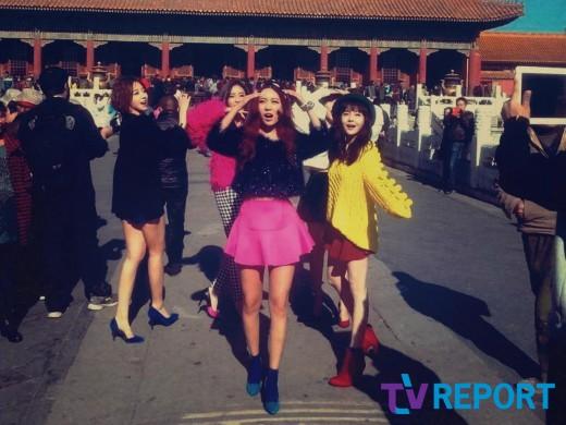 T-ARA『2013私どうしよう』中国でのMV撮影現場を捕捉【画像】