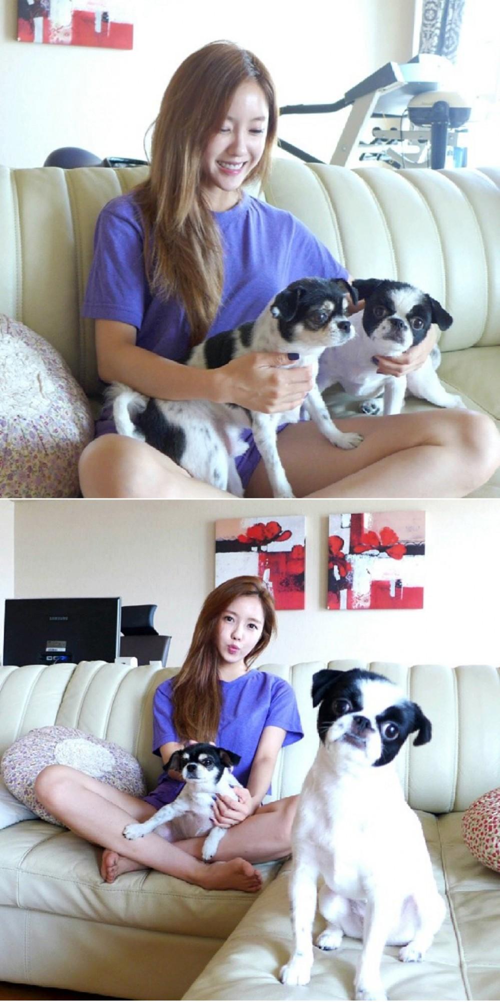 T-ARAヒョミン-ツイッター画像での愛犬紹介にファン「うらやましい」
