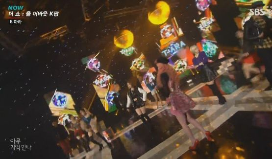 T-ARA12月24日『The Show All About K-POP』安定のレトロ感