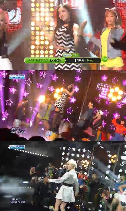 12月15日人気歌謡にT-ARAが出演「ラブリーな魅力に私どうしよう」