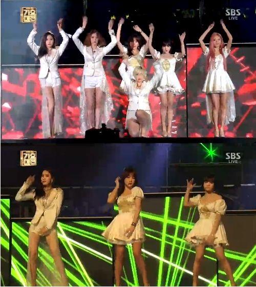 T-ARAが12月29日歌謡大典でNo.9を披露「各自の魅力生かした衣装」