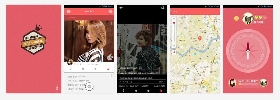 T-ARAの公式スマホアプリ『T-ARA Holic』が公開【無料】