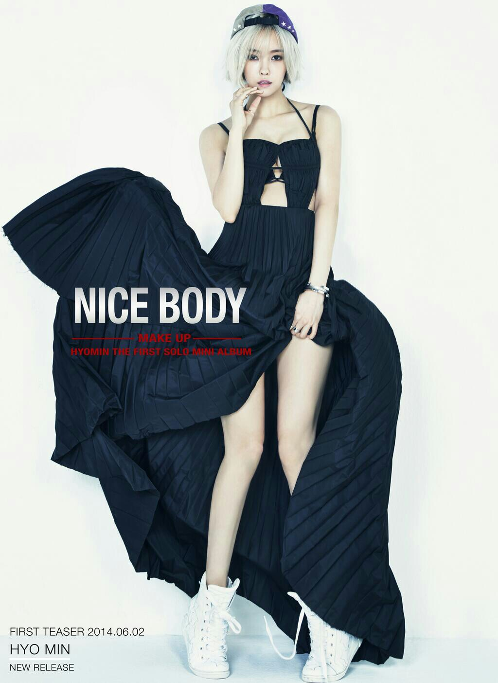 ヒョミンのソロ曲「NICE BODY」のティザー画像が公開