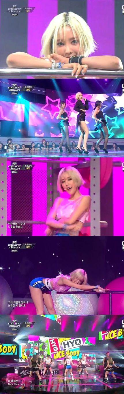 7月3日Mカでカムバックしたヒョミン「セクシー美-鮮烈なソロデビュー」