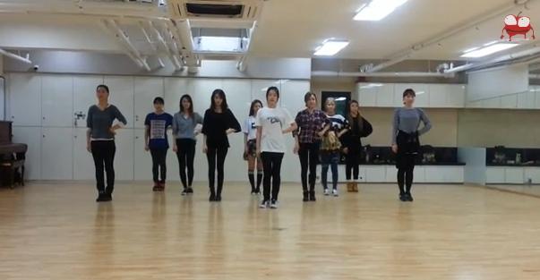 T-ARA『小さなリンゴ(Little Apple)』のダンス練習動画が公開
