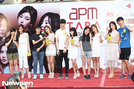 T-ara girls team up to launch new movie in Hong Kong