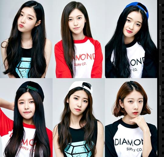 T-ARAの妹グループ『DIA(ダイヤ)』のメンバー画像が公開「美少女6人」