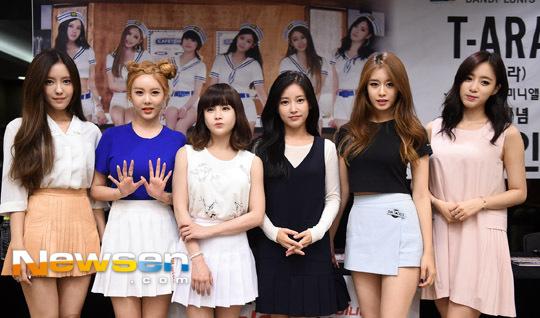 T-ARA『SO GOOD』:8月23日ファンサイン会「連続での開催は稀」