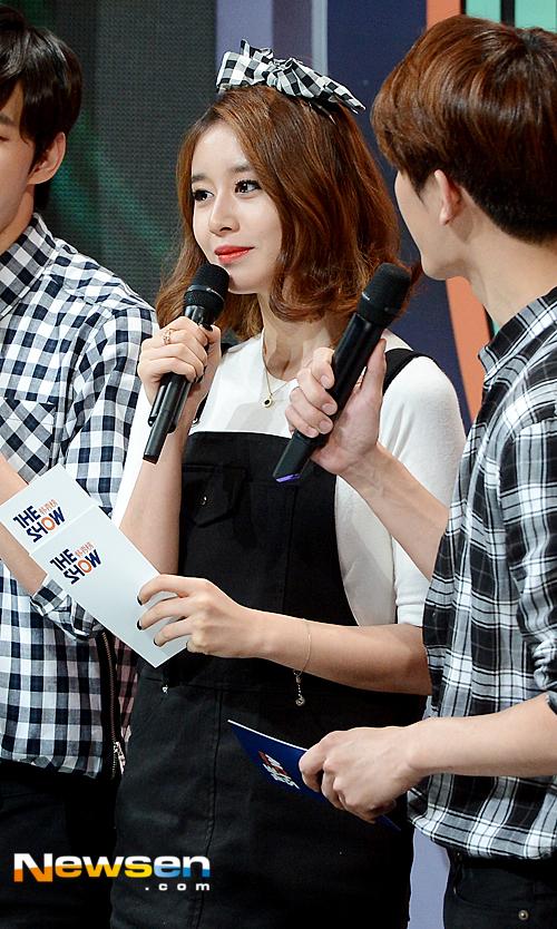 T-ARAジヨンが15年9月15日THE SHOWへ「相変わらずの美貌」