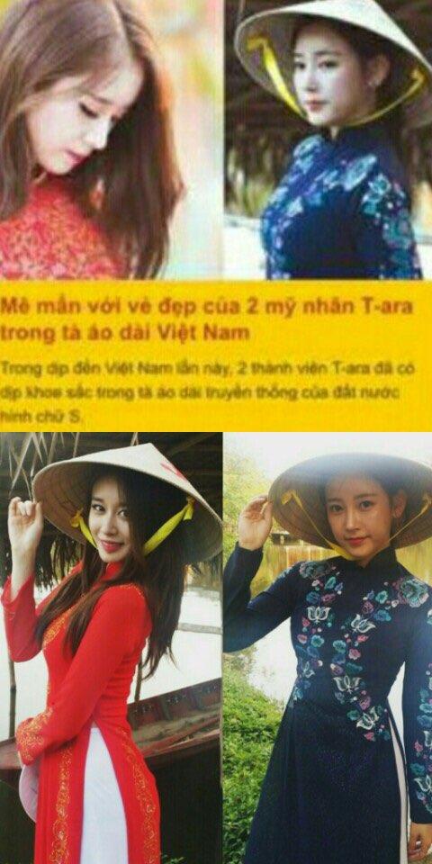 ジヨンとソヨンがベトナム民族衣装で「可愛すぎるアオザイ姿」
