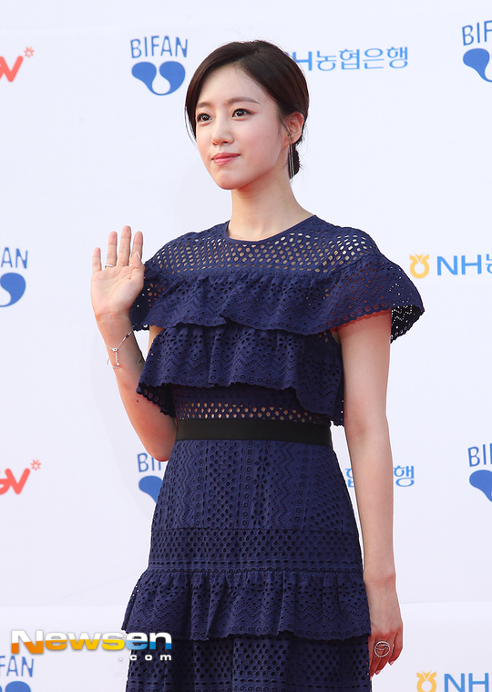 T-ARAウンジョンが韓国の映画祭に参加【画像】