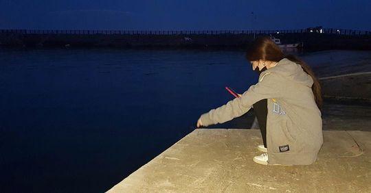 ジヨンがインスタで釣り姿を公開【画像】